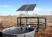Solar water pump (source: http://www.wind-solar-energy.webs.com/)